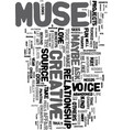your love affair with muse text word cloud