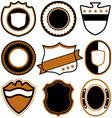 emblem badge template vector image
