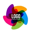 abstract logo template layout Abstract vector image vector image
