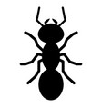 Ant silhouette logo symbol icon sign