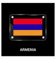 armenia flag design vector image