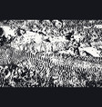 black and white texture earth with traces vector image