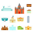 building repair cartoon icons in set collection vector image vector image