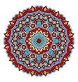 Colorful mandala hand drawn vector image vector image