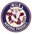 cow hand drawn sketch logo vector image