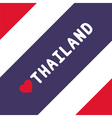 I love Thailand19 vector image vector image