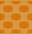 peeled orange tangerines seamless pattern vector image