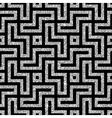silver oriental swastika pattern vector image vector image