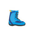 snowboarding boots isolated vector image vector image