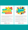 super sale exclusive offer vector image vector image