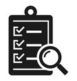 to do check list icon simple style vector image