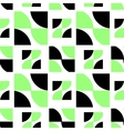 Black and green abstract pattern vector image vector image