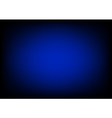 Blue Black Rectangle Gradient Background vector image vector image