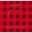 Bright Valentine s day background Poster and card vector image vector image