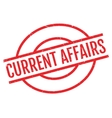 current affairs rubber stamp