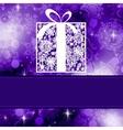 elegant christmas card vector image vector image