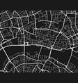 location map city vector image