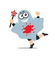 Smile Spook Cartoon vector image vector image