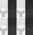 texture eagle11 vector image vector image