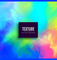 vibrant watercolor colorful texture background vector image vector image