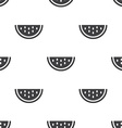 watermelon seamless pattern vector image vector image