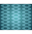 Blue Retro Seamless pattern vector image vector image