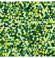 Colored triangle seamless pattern background vector image