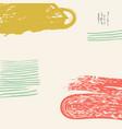 hand drawn creative card vector image