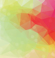Polygonal abstract geometry background vector image vector image