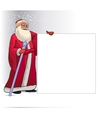 Santa Claus Cartoon Character for Christmas vector image