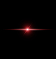 Abstract RED beam Light vector image vector image