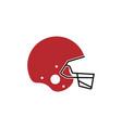 american football helmet icon design template vector image