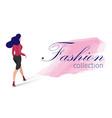 fashion collection cartoon vector image