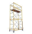 Of Scaffolding vector image