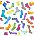 Socks Background Pattern vector image vector image