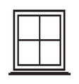 window icon symbol design vector image