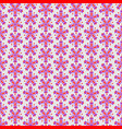 abstract colorful seamless floral pattern vector image vector image