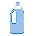 bottle laundry product icon vector image vector image