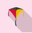 children kite icon flat style vector image