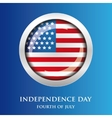 fourth july independence day usa vector image vector image