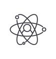 hrhuman resourcesmolecular avatar line vector image vector image