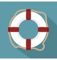 lifeguard float circle icon vector image