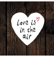 love is in the air vector image