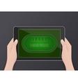 Online poker online gambling hobby vector image vector image