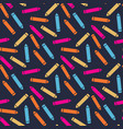pencil pattern in different colors vector image