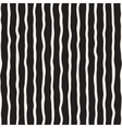 Seamless Hand Drawn Black and White Stripes vector image vector image