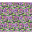 Seamless paisley decorative pattern vector image