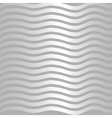 Silver wave pattern vector image vector image