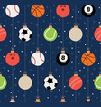 sport christmas seamless pattern christmas vector image vector image