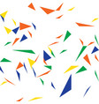 abstract triangle color pattern vector image vector image